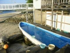 湯の児 露天船湯